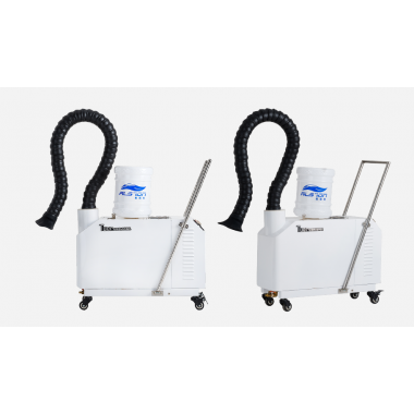 Mobile atomizing disinfection machine